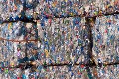 Plástico reciclable foto de archivo