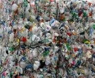 Plástico reciclado imagen de archivo libre de regalías