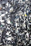 Plástico reciclado Fotos de archivo