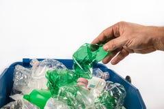 Plástico, separación inútil Fotografía de archivo libre de regalías