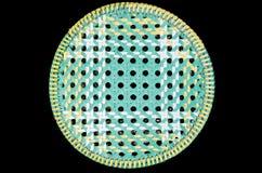 Plástico tejido rayado Fotografía de archivo libre de regalías