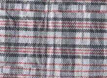 Plástico vietnamiano textura tecida do saco Imagens de Stock