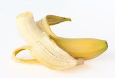plátano aislado   Imagen de archivo libre de regalías