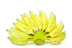 Plátano amarillo Foto de archivo