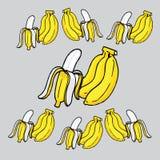 Plátano amarillo Fotografía de archivo libre de regalías