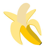 Plátano del icono Fotos de archivo