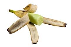Plátano del pepino Fotos de archivo libres de regalías