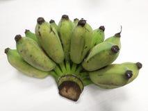 Plátano en el fondo blanco Fotos de archivo