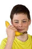 Plátano llamada Foto de archivo libre de regalías