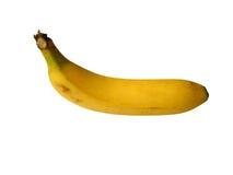 Plátano maduro Imagen de archivo libre de regalías