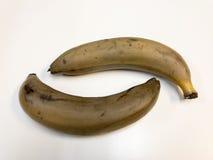 Plátano maduro Plátano Fotografía de archivo libre de regalías