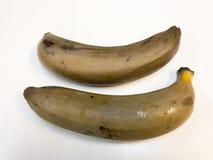 Plátano maduro Plátano Fotos de archivo