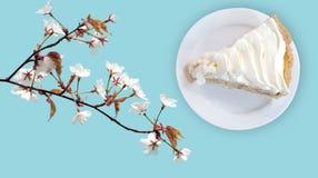 _plátano poner crema natilla empanada Imagen de archivo libre de regalías