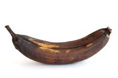Plátano putrefacto imagen de archivo libre de regalías