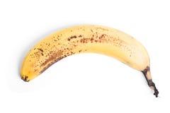 Plátano putrefacto imágenes de archivo libres de regalías