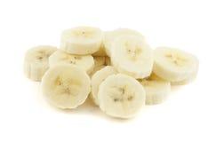 Plátano rebanado Imagen de archivo libre de regalías