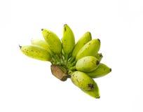 Plátano sin procesar Imagenes de archivo