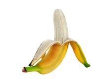 Plátanos aislados Imágenes de archivo libres de regalías