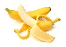 Plátanos aislados Foto de archivo libre de regalías