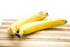Plátanos amarillos Imagenes de archivo