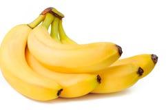 Plátanos del manojo aislados Imagen de archivo libre de regalías
