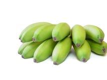 Plátanos dominicanos verdes Imagen de archivo