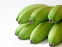 Plátanos dominicanos verdes Fotografía de archivo