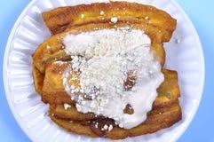 Plátanos fritos Foto de archivo libre de regalías