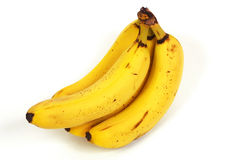 Plátanos maduros Fotos de archivo libres de regalías