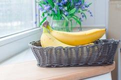 Plátanos maduros Fotos de archivo