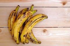 Plátanos maduros dulces del llantén de la parrilla Foto de archivo libre de regalías