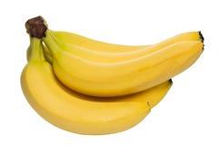 Plátanos maduros orgánicos Imagen de archivo libre de regalías