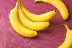 Plátanos maduros sabrosos Foto de archivo libre de regalías