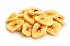 Plátanos secados Fotos de archivo libres de regalías