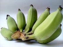 Plátanos sin procesar Imagenes de archivo