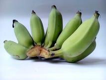 Plátanos sin procesar Fotografía de archivo libre de regalías