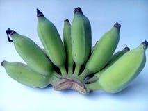 Plátanos sin procesar Foto de archivo libre de regalías