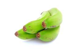 Plátanos verdes indios Imágenes de archivo libres de regalías