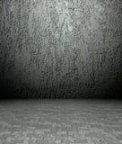 plâtre 3d et texture concrète, intérieur vide Photos stock