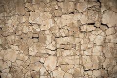 Plâtre criqué Photo stock