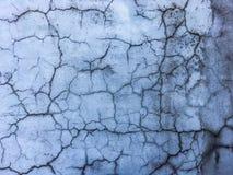 Plâtre criqué Photos stock