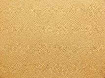 Plâtre décoratif jaune Photographie stock libre de droits