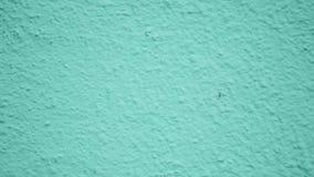 Plâtre décoratif vert Moulage sur le mur banque de vidéos