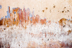 Plâtre grunge de texture, lumineux et de couleur de mur Photos stock