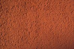 Plâtre ocre Photo libre de droits