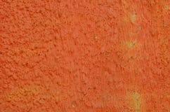 Plâtre peint par orange Images stock