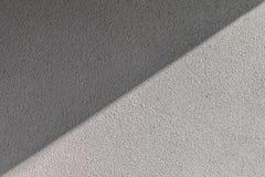 Plâtre rugueux de gris de texture Images stock