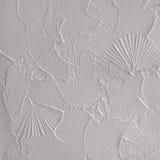Plâtre structurel sur le mur Photo libre de droits