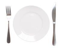 Plätera och utensilen Royaltyfria Foton