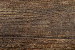 Pläterad konstgjord träbakgrund för mörk brunt Fotografering för Bildbyråer